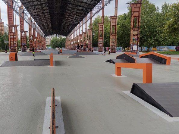 Parco Dora, inaugurato il nuovo Skate Park sotto la tettoia dello strippaggio